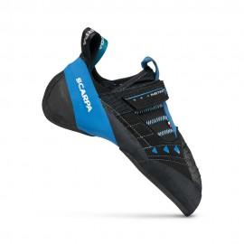 SCARPA Instinct VSR black/azure scarpette arrampicata