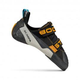 SCARPA Booster black/orange  Scarpette arrampicata