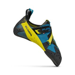 SCARPA Furia Air baltic blue/yellow scarpette arrampicata