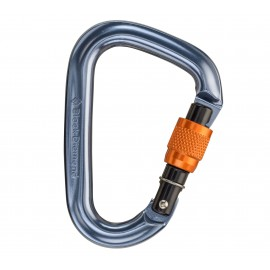 BD Black Diamond Mini Pearabiner Screwgate moschettone a ghiera arrampicata