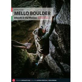 Mello Boulder guida arrampicata Versante Sud in italiano