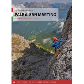 Pale di San Martino guida arrampicata Versante Sud in italiano