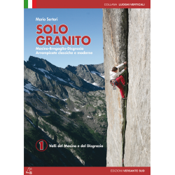 Solo Granito vol. 1 guida arrampicata Versante Sud in italiano
