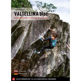 Valtellina Bloc guida arrampicata Versante Sud in italiano