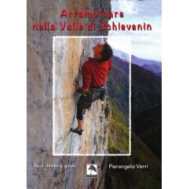 Arrampicare nella Valle di Schievenin guida arrampicata in italiano