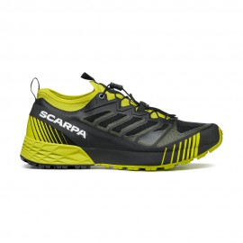 SCARPA Ribelle Run Black-Lime scarpa da trail running