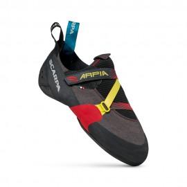 SCARPA Arpia black/red scarpette arrampicata