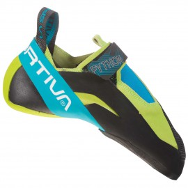 La Sportiva Python Apple Green/Tropic Blue Scarpette arrampicata