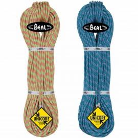 Beal Ice Line 8.1 mm Unicore Golden Dry mezza Corda arrampicata
